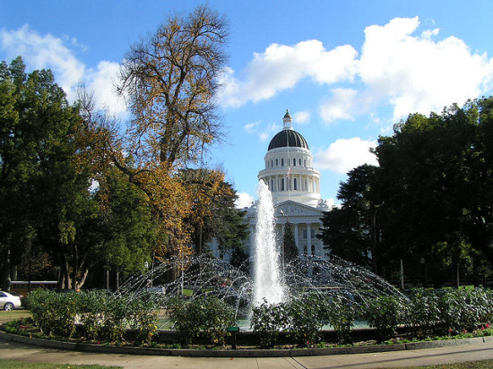 State Capitol, Sacramento, California - Photo: Bev Sykes via Flickr, used under Creative Commons License (By 2.0)