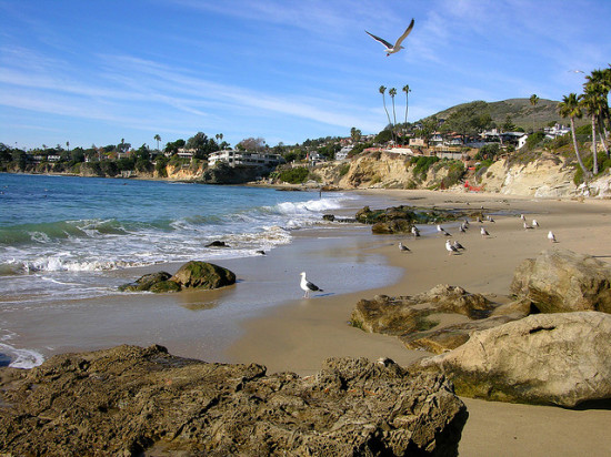 Laguna Beach, Orange County, California  - Photo: diosthenese via Flickr, used under Creative Commons License (By 2.0)