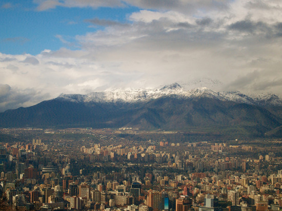 Santiago de Chile, Chile - Photo: kanbron via Flickr, used under Creative Commons License (By 2.0)