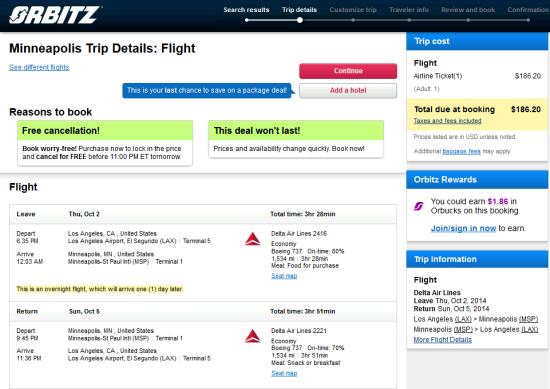 Cheap Car Rentals Msp The Flight Deal | Delta – $186: Los Angeles – Minneapolis (and ...