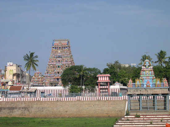 Arulmigu Kapaleeswarar Temple, Chennai, India - Photo: Balu Velachery via Flickr, used under Creative Commons License (By 2.0)