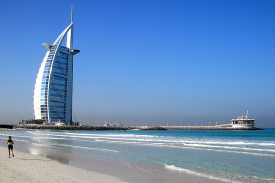 Burj Al Arab, Dubai, United Arab Emirates - Photo: Kunal Mukherjee via Flickr, used under Creative Commons License (By 2.0)