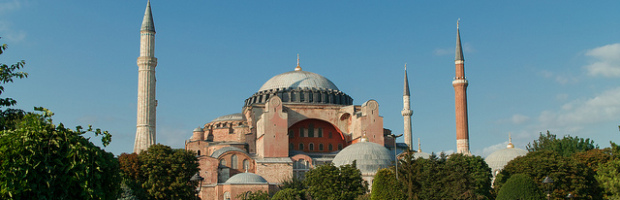 Hagia Sophia, Istanbul, Turkey - Photo: t-mizo via Flickr, used under Creative Commons License (By 2.0)