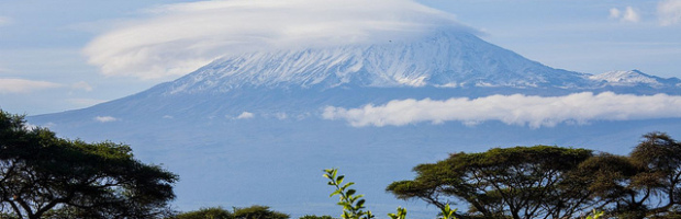 Kilimanjaro, Tanzania - Photo: ninara via Flickr, used under Creative Commons License (By 2.0)