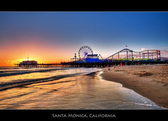Santa Monica Pier - Photo: Pedro Szekely via Flickr, used under Creative Commons License (By 2.0)