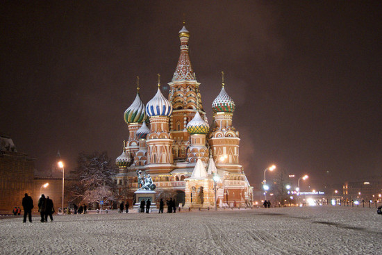 St. Basil's Cathedral, Moscow, Russia - Photo: Sergey Rodovnichenko via Flickr, used under Creative Commons License (By 2.0)