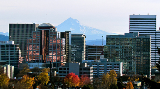 Portland, Oregon- Photo: Jeff Gunn via Flickr, used under Creative Commons License (By 2.0)