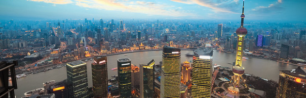 Shanghai, China - Photo: ビッグアップジャパン  via Flickr, used under Creative Commons License (By 2.0)