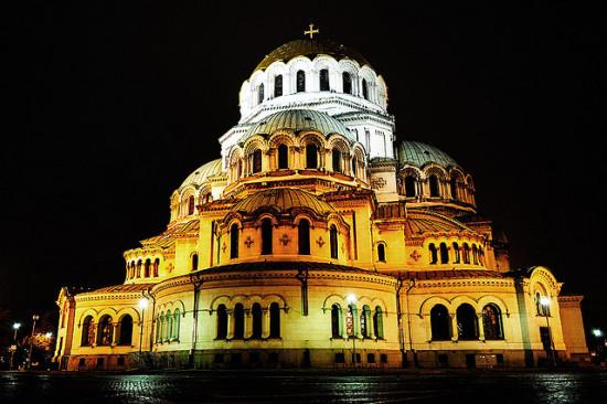 Alexander Nevsky Cathedral, Sofia, Bulgaria - Photo: Yovko Lambrev via Flickr, used under Creative Commons License (By 2.0)