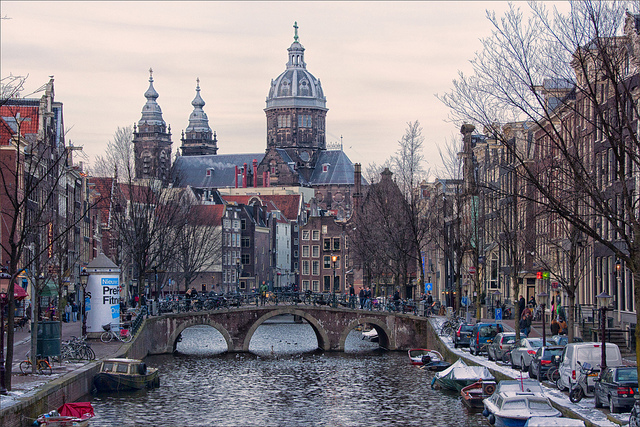 United – $461: Newark – Amsterdam, Netherlands. Roundtrip, including all Taxes