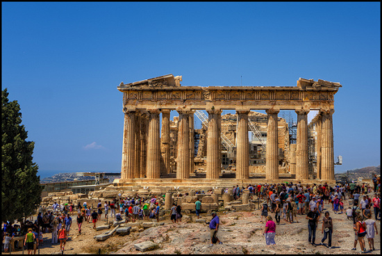 Athens, Greece- Photo: Pedro Szekely via Flickr, used under Creative Commons License (By 2.0)