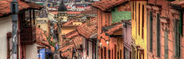 La Candelaria, Bogota, Colombia - Photo: Pedro Szekely via Flickr, used under Creative Commons License (By 2.0)
