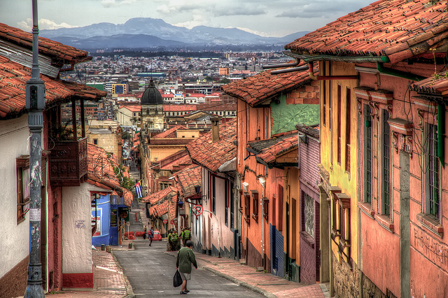 American – $228: Newark / Washington D.C. / San Francisco / Houston / Denver / Cleveland – Bogota, Colombia. Roundtrip, including all Taxes