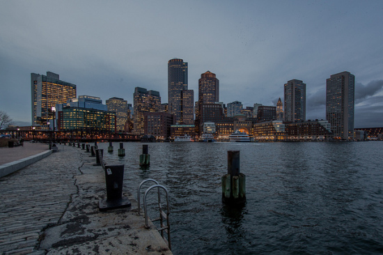 Boston Skyline - Photo: Tim Sackton via Flickr, used under Creative Commons License (By 2.0)