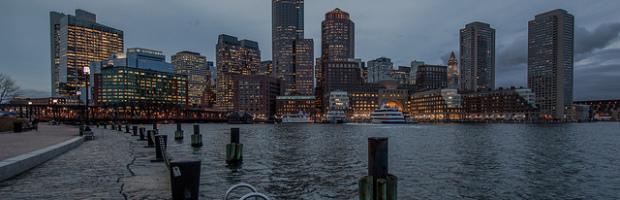 Boston Skyline - Photo: Tim Sackton via Flickr, used under Creative Commons License (By 2.0)