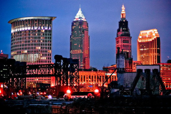 Cleveland, Ohio - Photo: Joshua Rothhaas via Flickr, used under Creative Commons License (By 2.0)