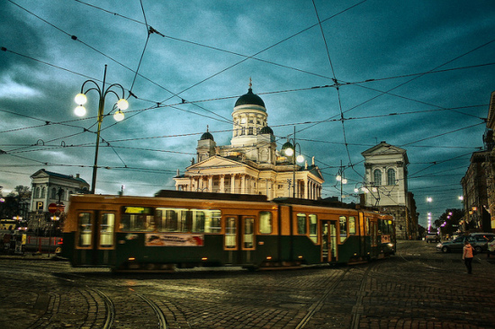Helsinki, Finland - Photo: Alexander Kolosov via Flickr, used under Creative Commons License (By 2.0)