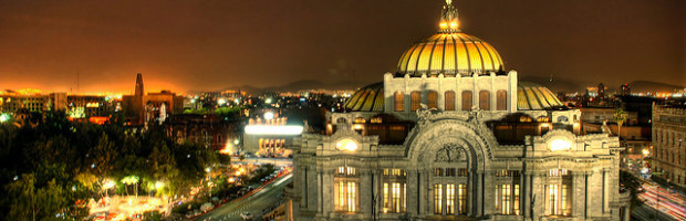 Palacio de Bellas Artes, Mexico City, Mexico - Photo: Eneas De Troya via Flickr, used under Creative Commons License (By 2.0)