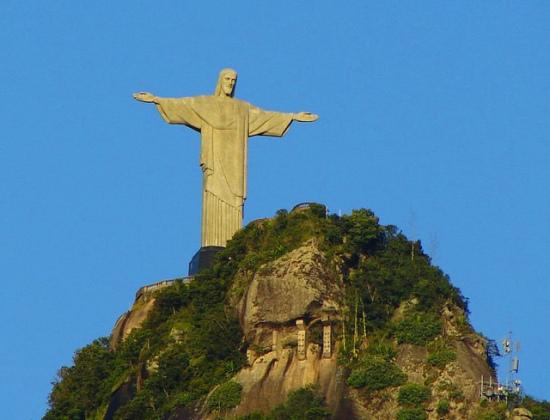 Christ the Redeemer, Corcovado, Rio de Janeiro, Brazil - Photo: Luiz Gadelha Jr. via Flickr, used under Creative Commons License (By 2.0)