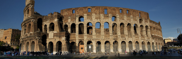 Colosseum, Rome, Italy - Photo: Kosala Bandara via Flickr, used under Creative Commons License (By 2.0)