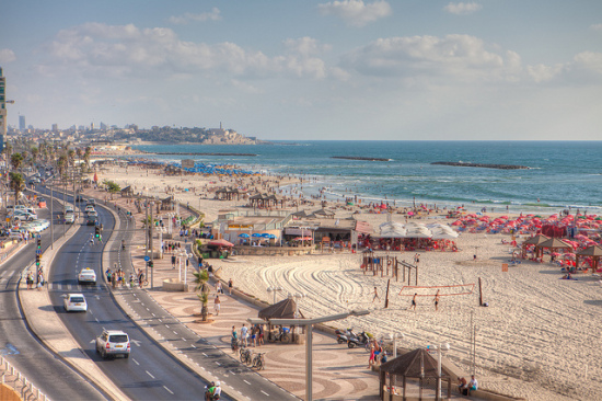 Tel Aviv, Israel - Photo: Israeltourism via Flickr, used under Creative Commons License (By 2.0)