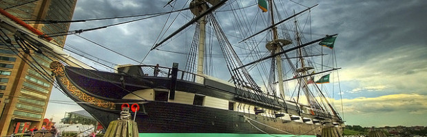 USS Constellation, Baltimore, Maryland - Photo: Steve via Flickr, used under Creative Commons License (By 2.0)