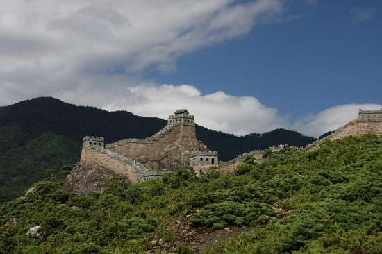 The Great Wall of China, outside of Beijing, China - Photo: Nikita via Flickr, used under Creative Commons License (By 2.0)
