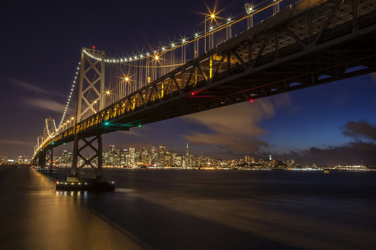 Bay Bridge - Photo: Anthony Quintano via Flickr, used under Creative Commons License (By 2.0)