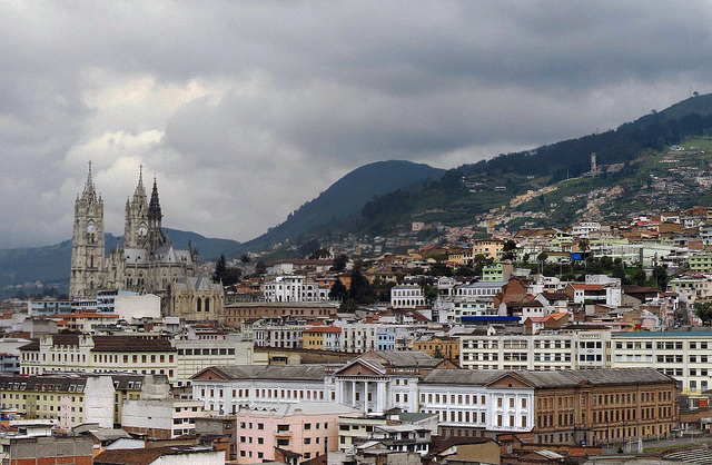 Copa: Portland – Quito, Ecuador. $462. Roundtrip, including all Taxes