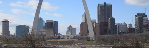 St. Louis, Missouri - Photo: Paul Sableman via Flickr, used under Creative Commons License (By 2.0)