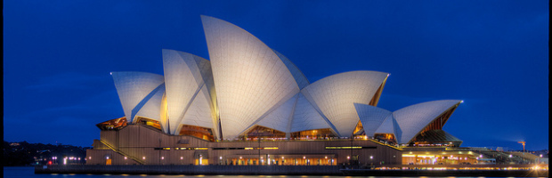 Opera House, Sydney, Australia - Photo: Pedro Szekely via Flickr, used under Creative Commons License (By 2.0)