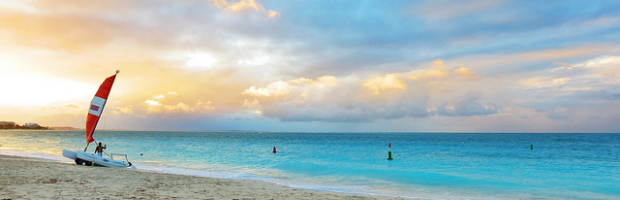 Grace Bay Beach, Turks and Caicos - Photo: Matthew Straubmuller via Flickr, used under Creative Commons License (By 2.0)