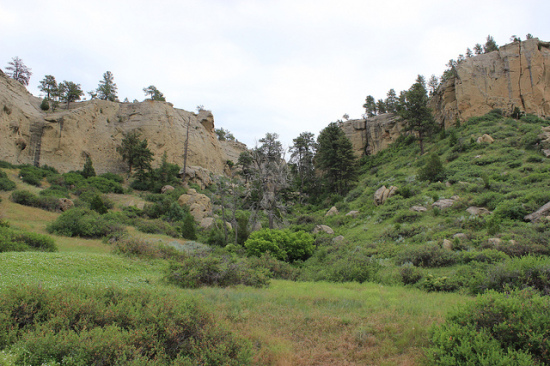 Pictograph Cave State Park, Billings, Montana - Photo: AllAroundTheWest, used under Creative Commons License (By 2.0)