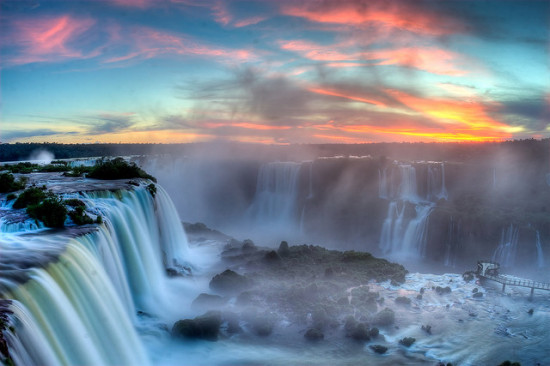 Iguazu Falls, Brazil - Photo: SF Brit via Flickr, used under Creative Commons License (By 2.0)