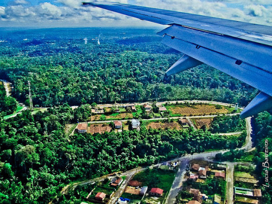 Manaus from the Air, Manaus, Brazil - Photo: lubasi via Flickr, used under Creative Commons License (By 2.0)