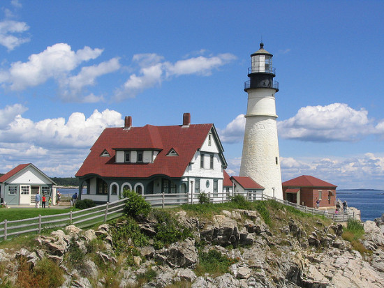 Portland Light House, Portland, Maine - Photo: Ken Lund via Flickr, used under Creative Commons License (By 2.0)