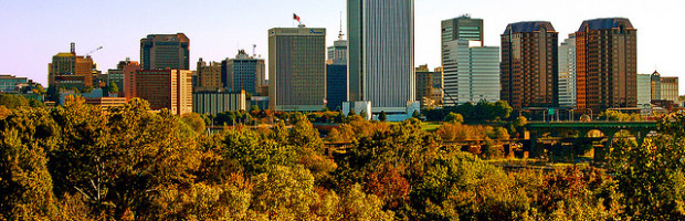 Skyline, Richmond, Virginia - Photo: Taber Andrew Bain via Flickr, used under Creative Commons License (By 2.0)