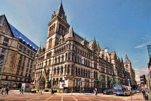 The Town Hall, Manchester, England - Photo: Stephen via Flickr, used under Creative Commons License (By 2.0)