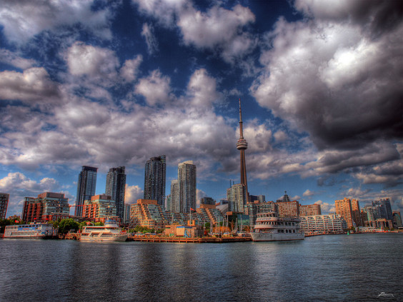 American – $310: Portland – Toronto, Canada. Roundtrip, including all Taxes
