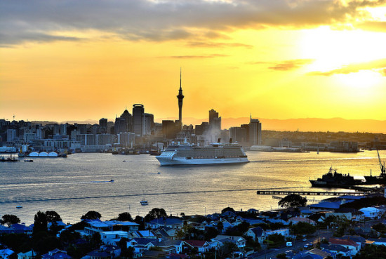 Auckland, New Zealand - Photo: GPS 56 via Flickr, used under Creative Commons License (By 2.0)