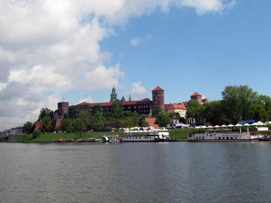 Wawel Castle, Krakow, Poland - Photo: Lukemn via Flickr, used under Creative Commons License (By 2.0)