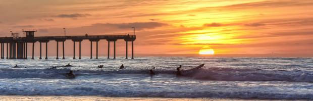 Ocean Beach Pier, San Diego, California - Photo: Chad McDonald via Flickr, used under Creative Commons License (By 2.0)