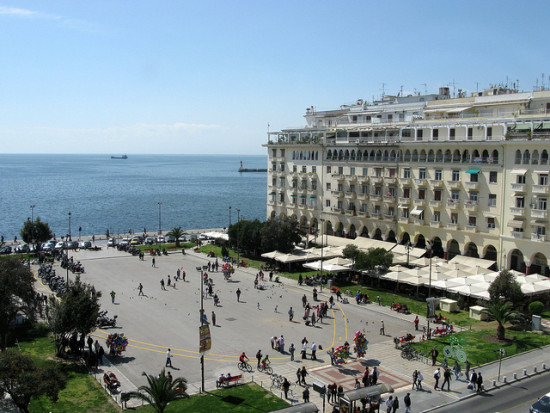 Aristotle Square, Thessaloniki, Greece - Photo: Tilemahos Efthimiadis via Flickr, used under Creative Commons License (By 2.0)