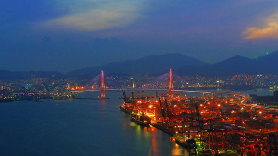 Busan, South Korea - Photo: travel oriented via Flickr, used under Creative Commons License (By 2.0)