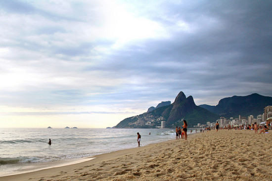 Ipanema, Rio de Janeiro, Brazil - Photo: Dimitry B. via Flickr, used under Creative Commons License (By 2.0)