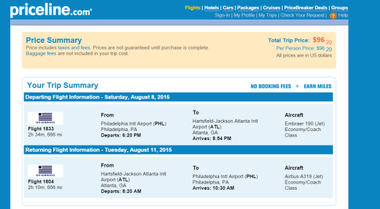 The Flight Deal The Shorthaul Us Airways 96