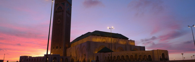 Grande Mosquée Hassan II, Casablanca, Morocco - Photo: Luc Legay via Flickr, used under Creative Commons License (By 2.0)