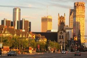 Detroit, Michigan - Photo: Dave Hogg via Flickr, used under Creative Commons License (By 2.0)