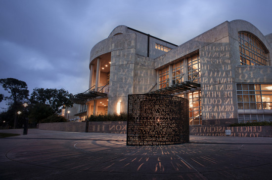 M.D. Anderson Library at the University of Houston - Photo: Katie Haugland via Flickr, used under Creative Commons License (By 2.0)