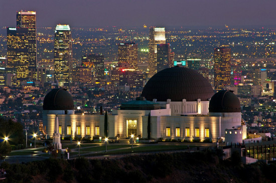Griffith Park Observatory, Los Angeles, California - Photo: Ron Reiring via Flickr, used under Creative Commons License (By 2.0)